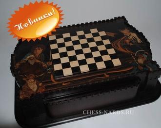 Шахматы в ларце «Хоббит»